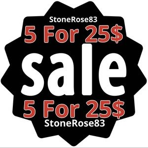 Other - ⭕️5 For 25$ SALE⭕️